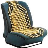 Carpoint 0323212 - Funda de bolas de madera para asiento (124 x 38 cm)