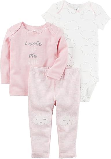 de2fd0291d0 Amazon.com  Carter s Baby Girls  3 Piece Cloud Set  Clothing
