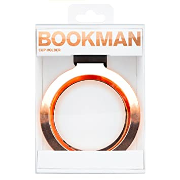 Bookman Bicicleta portavasos Cup Holder Copper, 351: Amazon.es: Deportes y aire libre