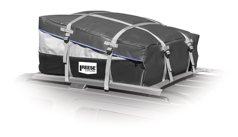 12-16 Cubic Feet REESE Explore 1391800 Expandable Rainproof Car-Top Carrier