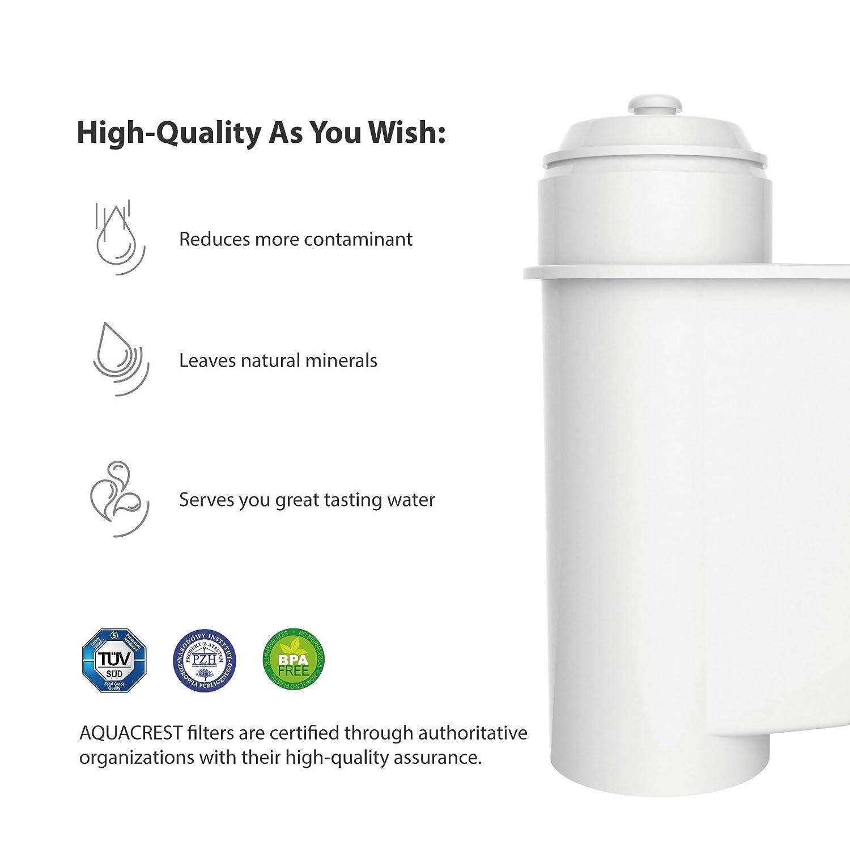 kostenlose Reinigungstabletten Ersatz Kaffeefilter Patronen für Brita Intenza