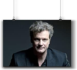 Colin Firth Actor Movie Photo Poster Prints 006-002,Wall Art Decor for Dorm Bedroom Living Room (A4|8x12inch|21x29cm)