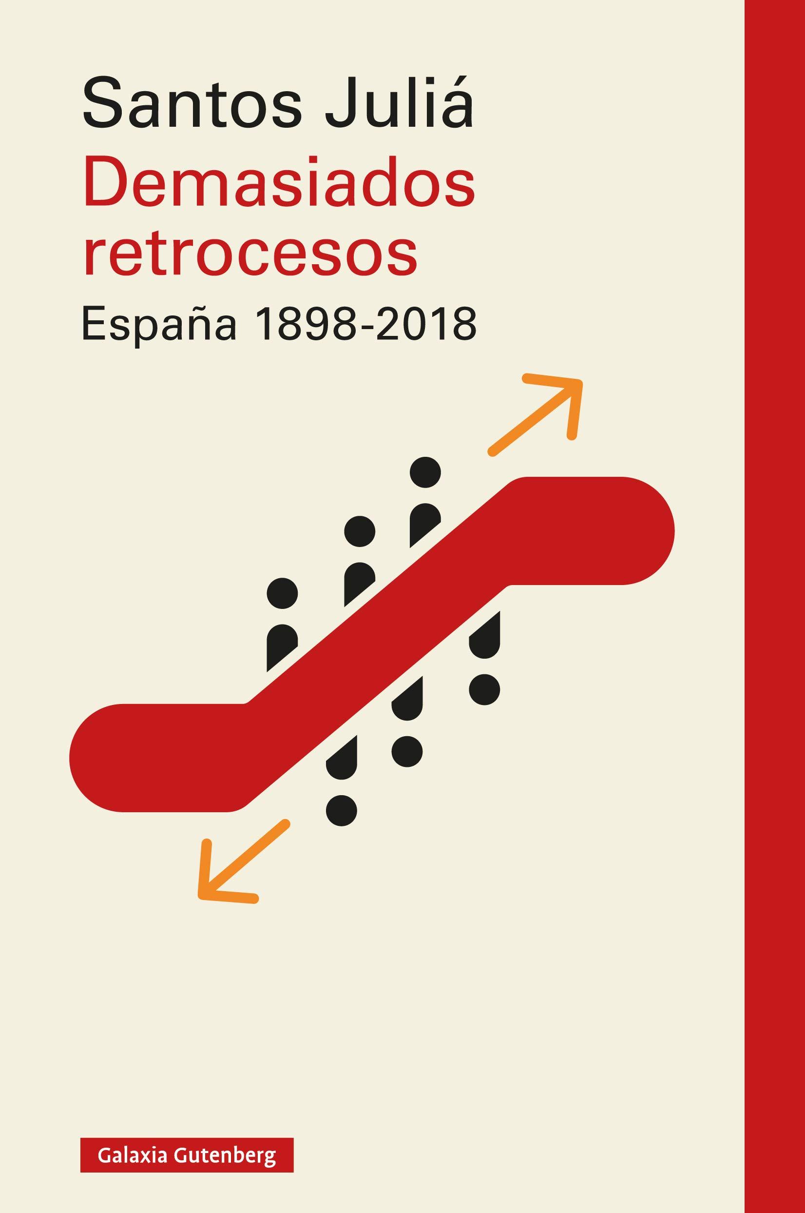 Demasiados retrocesos. España 1898-2018 (Rústica Ensayo) por Santos Juliá