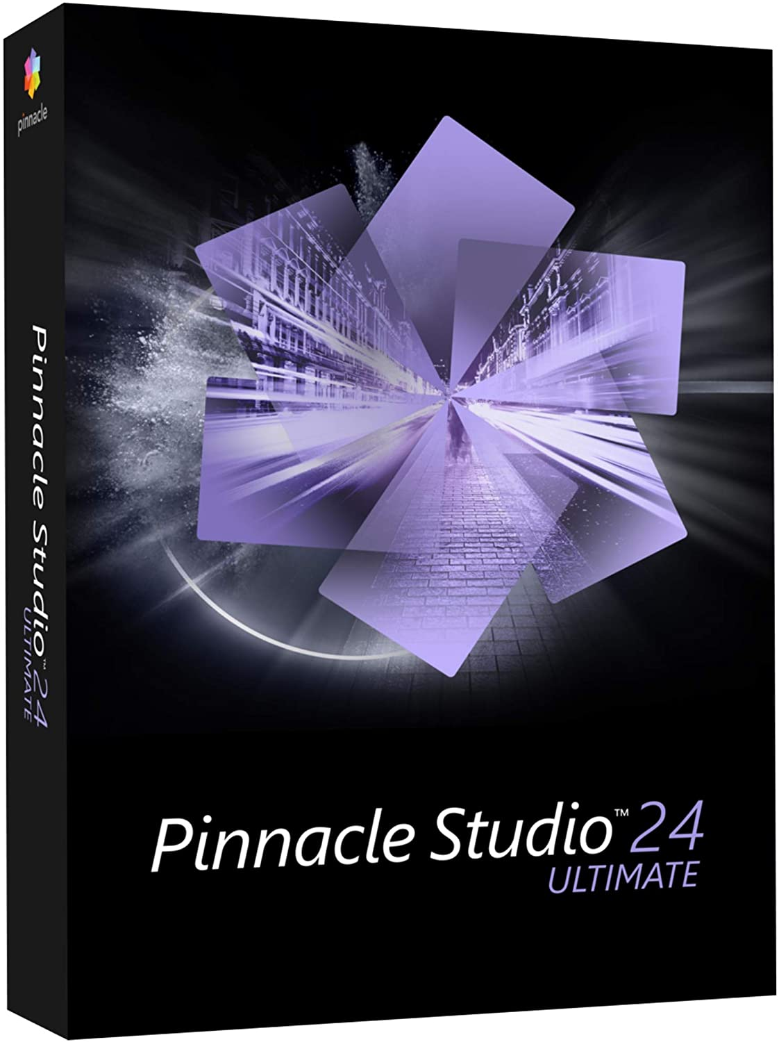 Pinnacle Studio 24 Ultimate | Advanced Video Editing and Screen Recording Software [PC Disc]