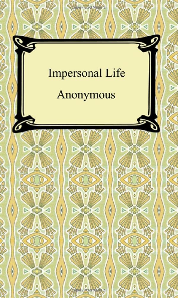 Read Online Impersonal Life PDF