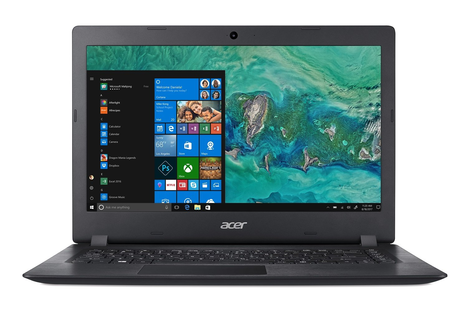 Acer Aspire 1 A114-32-C1YA, 14'' Full HD, Intel Celeron N4000, 4GB DDR4, 64GB eMMC, Office 365 Personal, Windows 10 Home in S mode by Acer (Image #7)