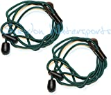 Swindon Watersports Paddle Leash - TWIN PACK - Fantastic Value- Perfect for Kayaking Canoeing and also Fishing Rod tether