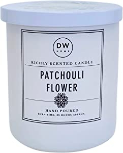 DW Home Patchouli Flower Scented Candle