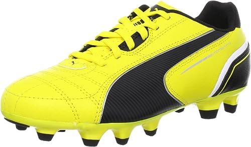 Puma Momentta FG Jr Garçons Bottes de Football Yellow 38