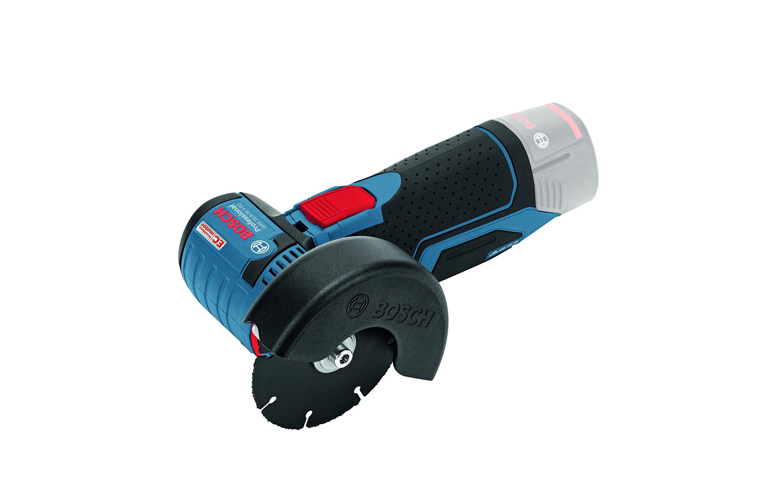 Bosch Professional GWS 10,8-76 V-EC - Amoladora angular a batería