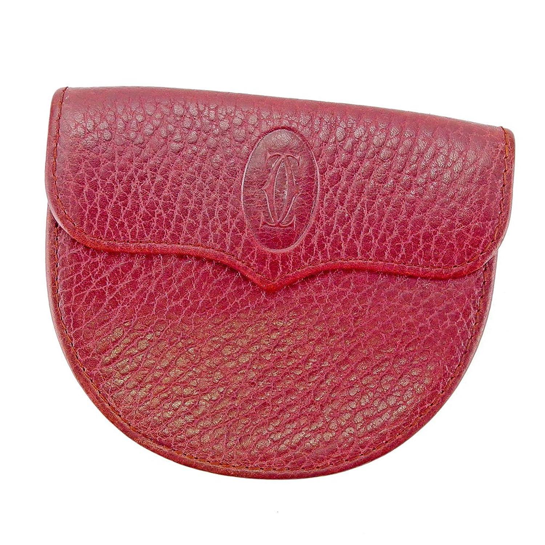 [カルティエ] Cartier コインケース 小銭入れ レディース メンズ 可 マストライン 中古 T4458 B0789N4R14