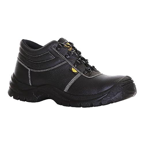 Slimbridge Thum Botas de Seguridad de Acero Dedo del pie tamaño 46, Negro