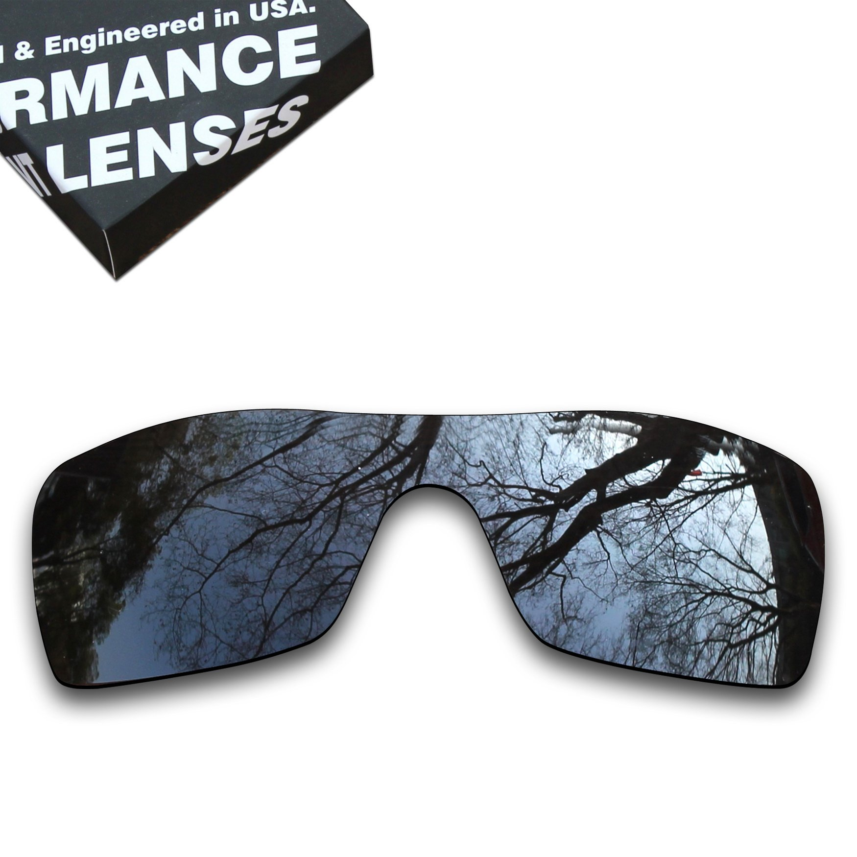 ToughAsNails Polarized Lens Replacement for Oakley Batwolf Sunglass - More Options
