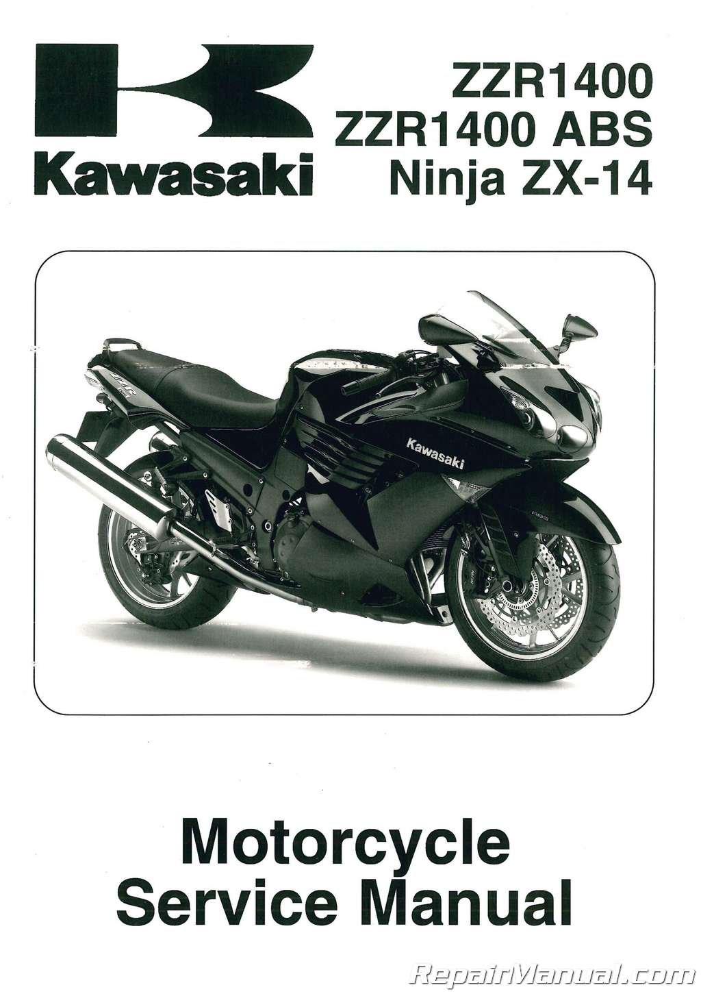 99924-1389-02 2008-2009 Kawasaki Ninja ZX1400C Service ...