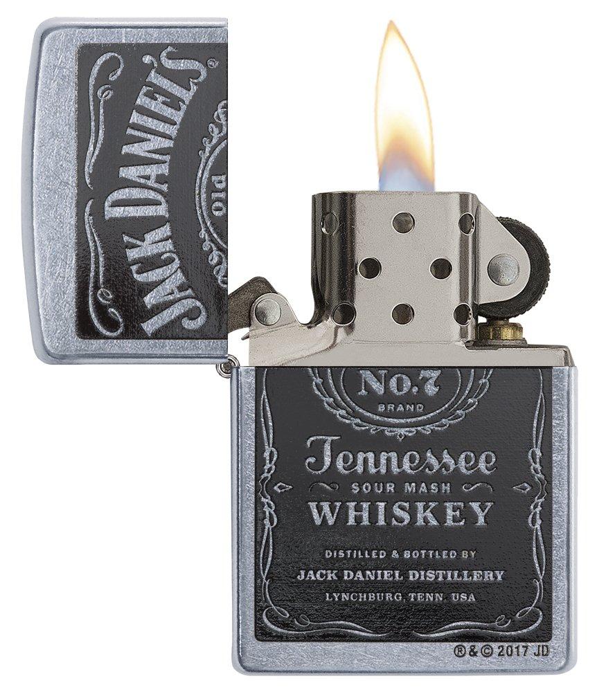 Zippo Jack Daniels Cromo - Encendedor de cocina (Cromo, 1 pieza(s)): Zippo: Amazon.es: Deportes y aire libre