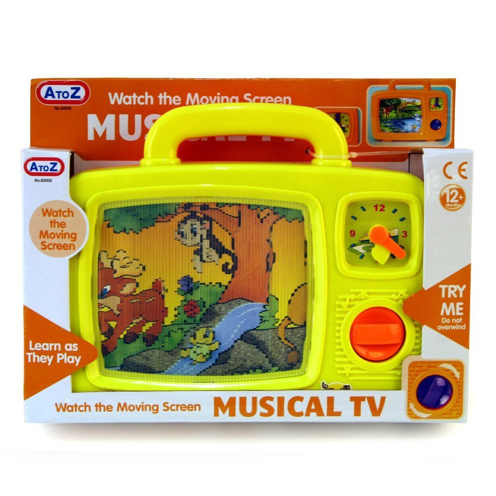 Musical TV Toy With Moving Screen - Suitable From 12 Months + Baby Best Buys