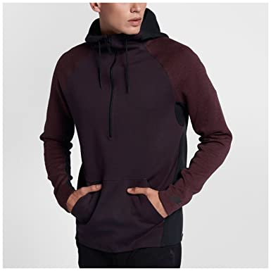 30011b9a5449 Nike Mens TECH Fleece Half-Zip Hoodie 884892-652 2XL - Port Wine Port