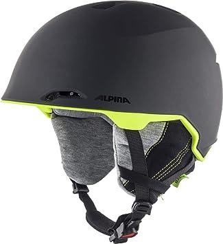 Alpina Unisex - Casco de esquí y Snowboard Maroi para Adultos ...