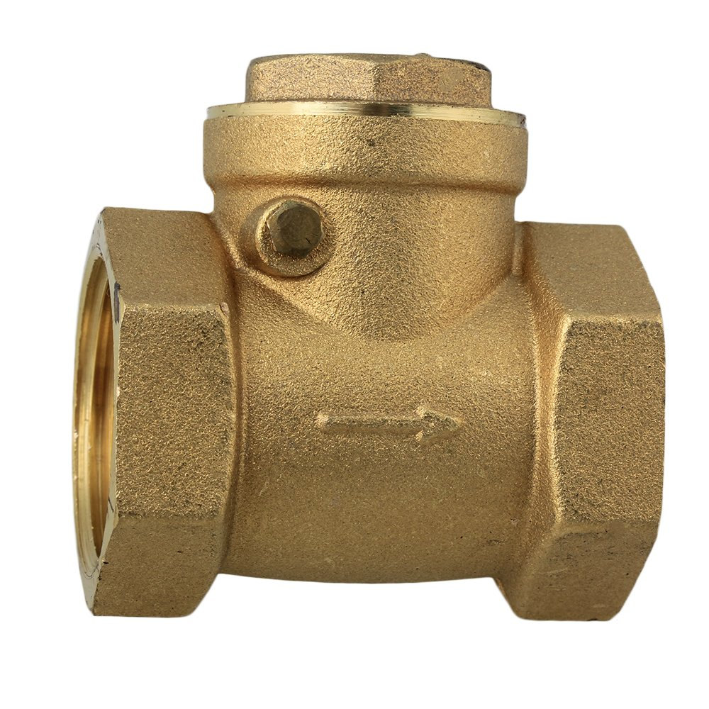BQLZR Golden Female BSPP Thread Swing Check Valve High Pressure N07980
