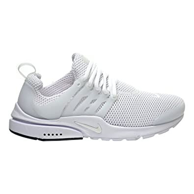 Nike Sneaker Air Presto In White Elastic Mesh Outlet Cheapest Price Cheap Sale Factory Outlet VUcvLsPhAY