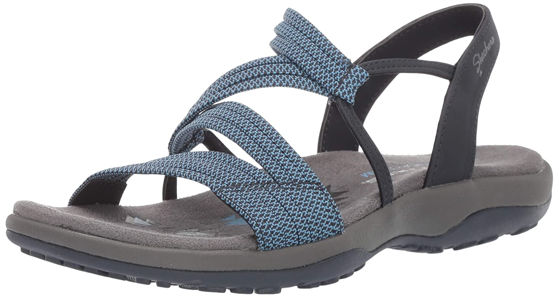 Skechers Womens Reggae Slim - Skech Appeal - Z-Gore Slingback Sandal Sandal