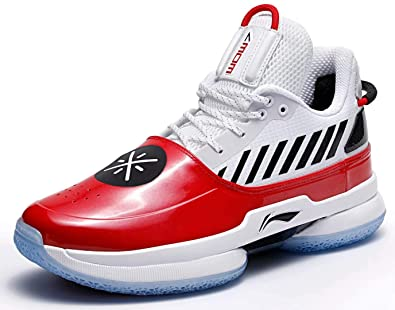 3f00cbb10d6d LI-NING Wow 7  OVERTOWN  Wade Professional Basketball Shoes Cushioning  Athletic Sneakers ABAN079