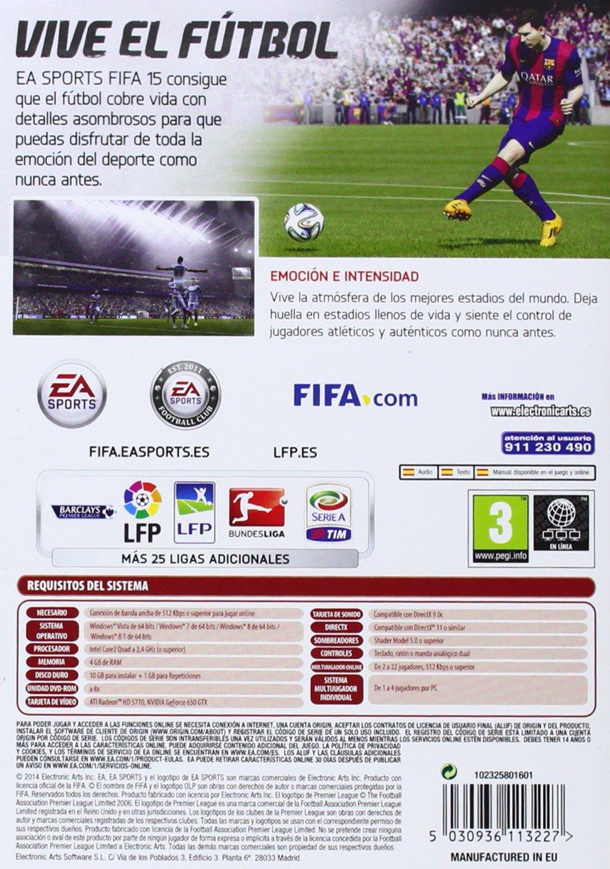 FIFA 15 - Edición Estándar: PC: Amazon.es: Videojuegos