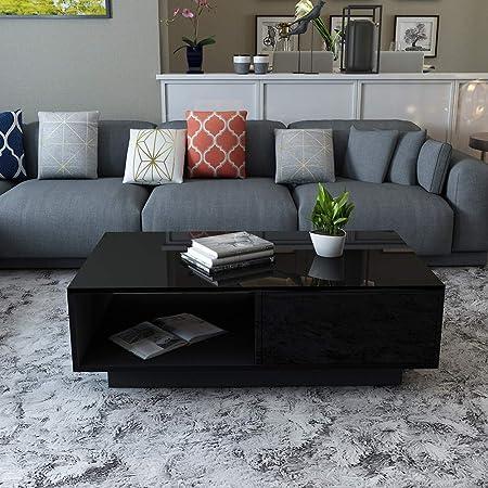 Ebtools Table Basse Avec Tiroir Table D Appoint Design Moderne