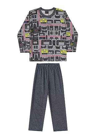 0db066153 Pijama Blusa E Calça Meia Malha Pai E Filho Quimby  Amazon.com.br ...