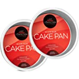 Last Confection Professional Bakeware - Round Aluminum Cake Pan Sets (Multiple Sizes)
