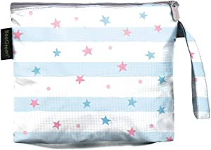 Large Reusable Sandwich Bags with Lovely Print Dishwasher Safe BPA Free - Durable Washable Quick Dry for School, Office Picnics BBQ Handmade Food, Snacks, Fruits, Set of 1