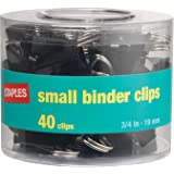 Staples Metal Binder Clips, Small (10667-CC)