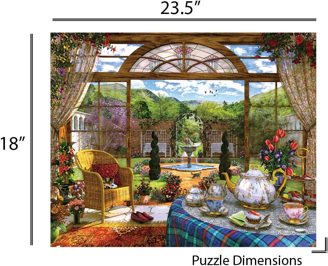 Springbok The Conservatory 350 Piece Jigsaw Puzzle