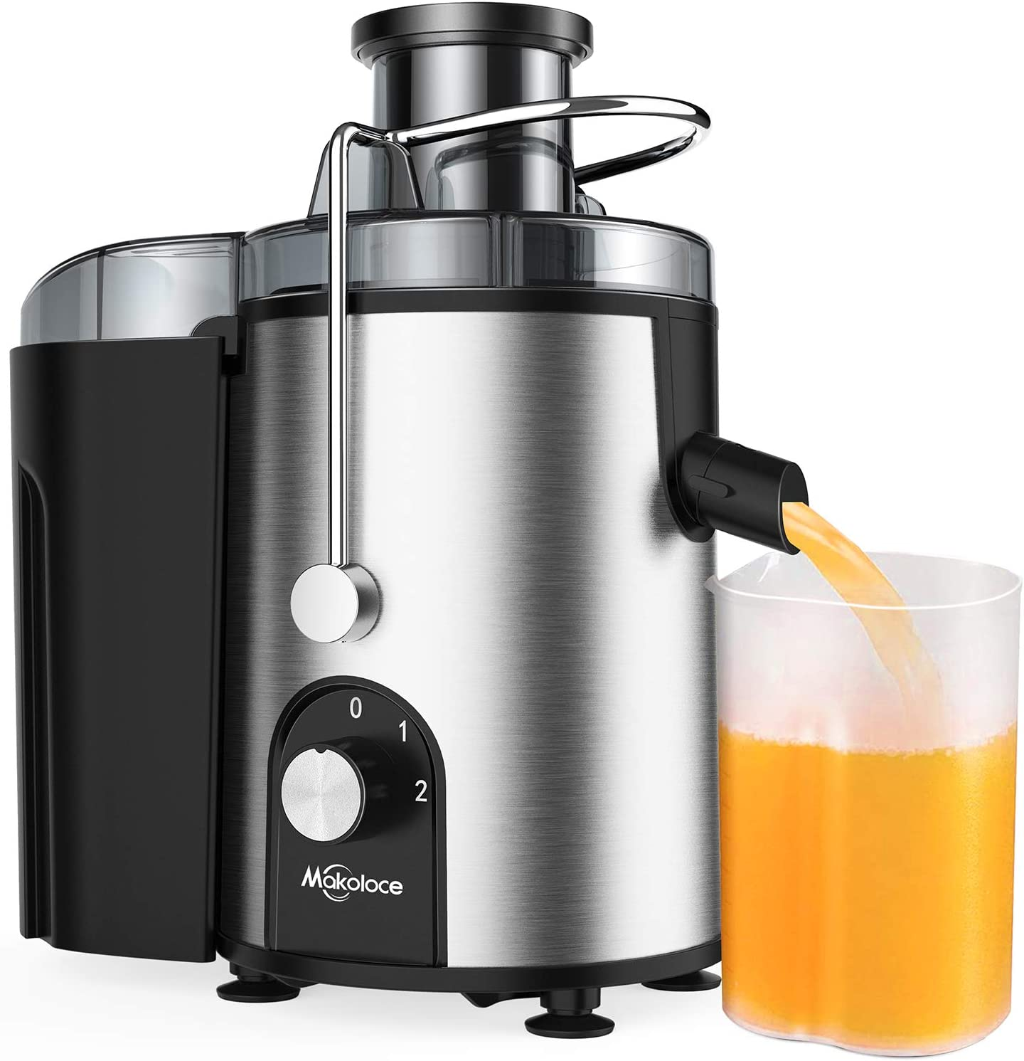 Juicer Machines, Juicers Best Sellers Easy to Clean, Centrifugal Juicers Machine Vegetable and Fruit Juice Extractor, Small Electric Juicer, Juice Press Maker with 2.4