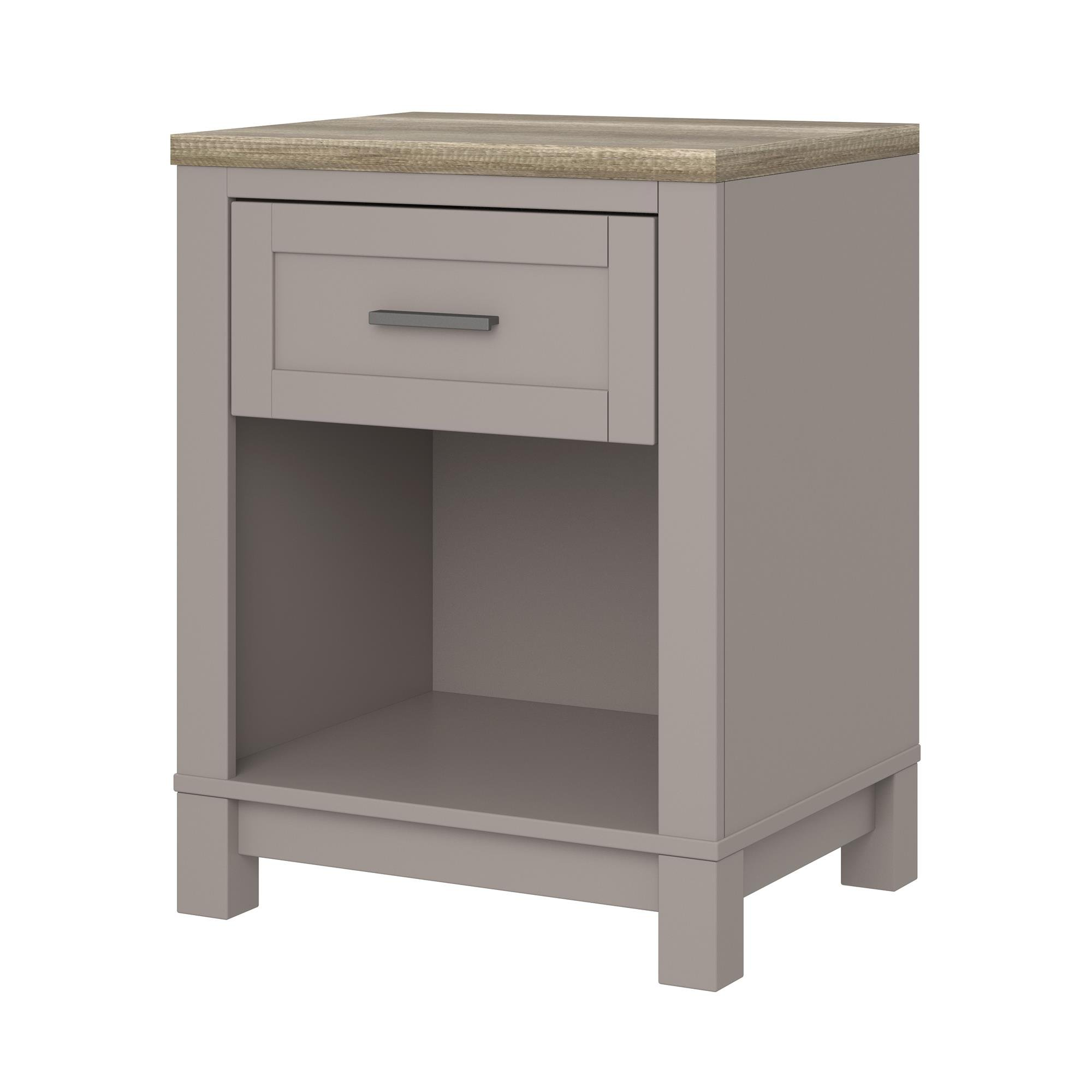Ameriwood Home Carver Nightstand, Gray