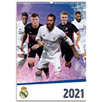 Grupo Erik - Calendario de pared 2021 Real Madrid Grupo, A3