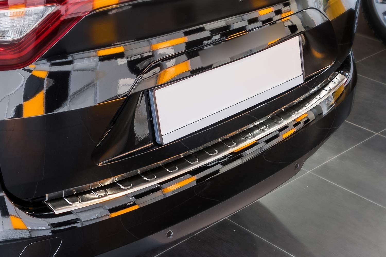 Tuning-Art L236 Protezione paraurti in Acciaio Inox con Profilo 3D e Bordi arrotondati