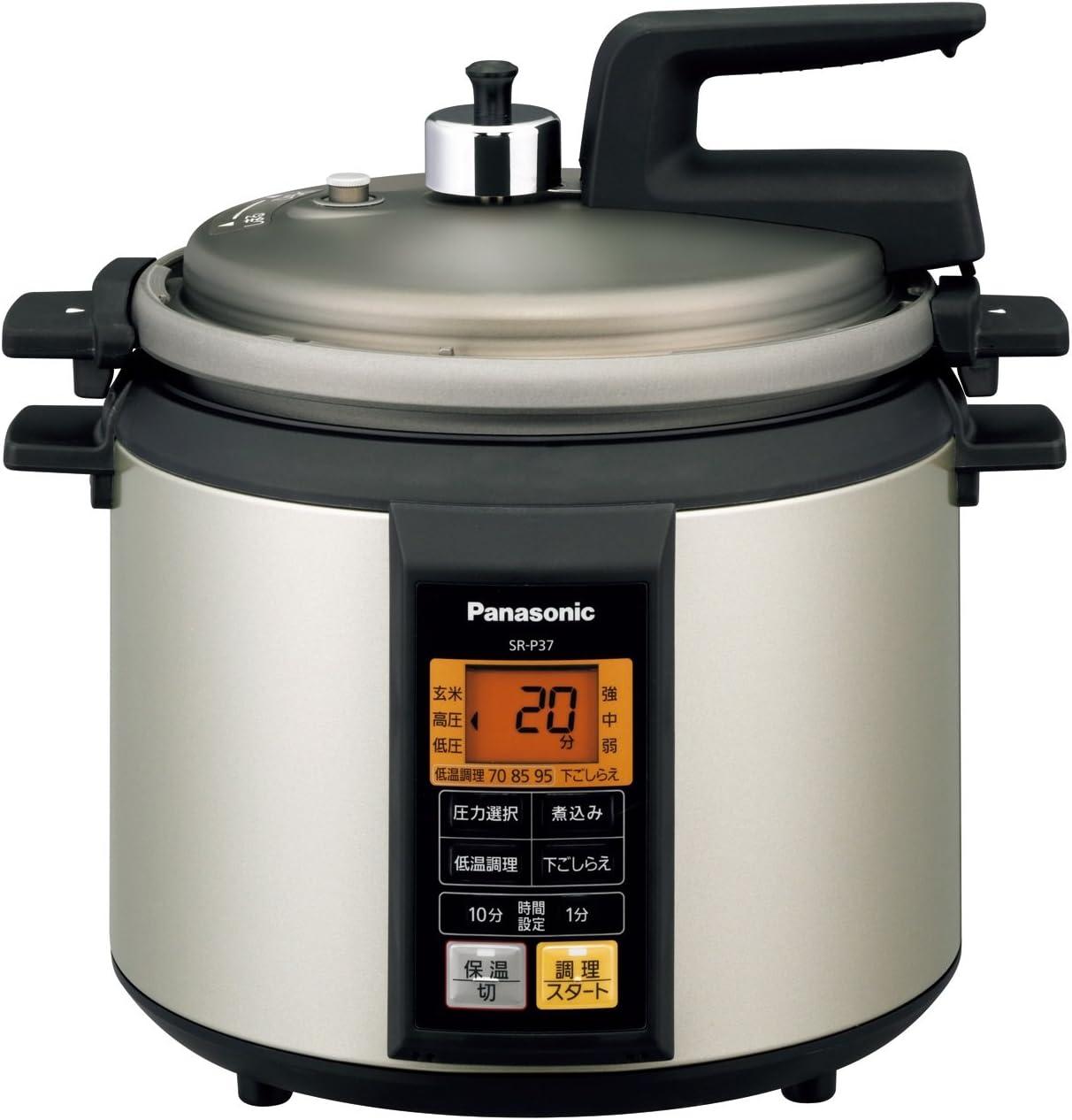 Panasonic microcomputer electric pressure cooker Noble champagne SR-P37-N