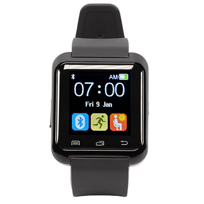 HAMSWAN Smartwatch Andriod Multi-Idiomas Reloj Inteligente Bluetooth 4.0 Smart Watch con la Pantalla Táctil Compatible con Android Todos Tipos ...