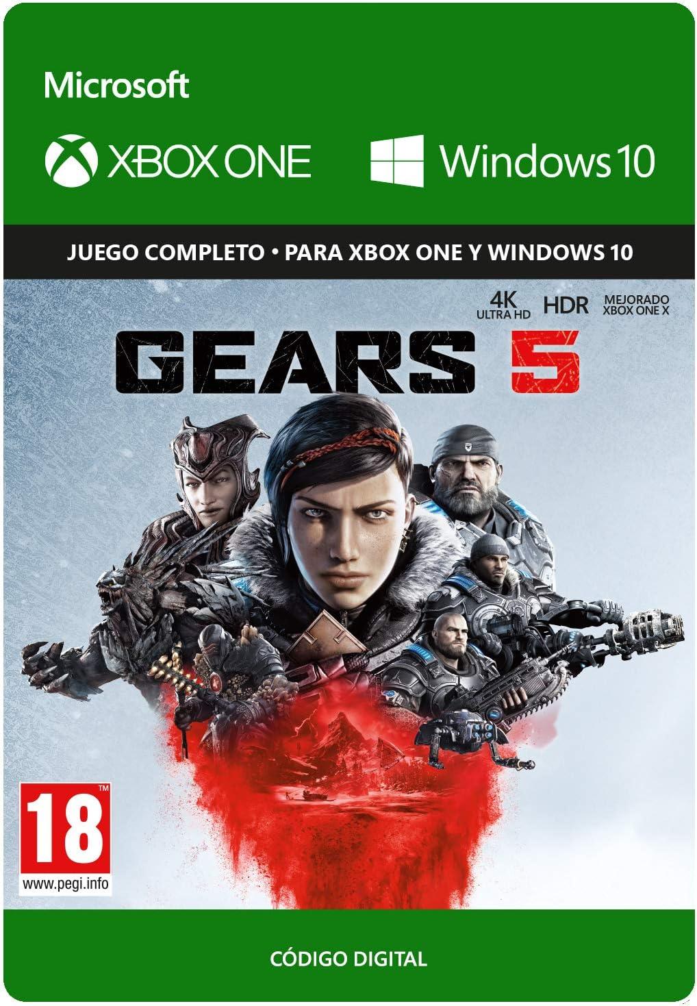 Gears of War 5 Standard Edición - Xbox One - Código de descarga ...