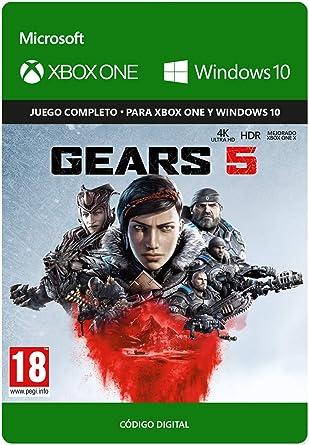 Gears Of War 5 Standard Edicion Xbox One Codigo De