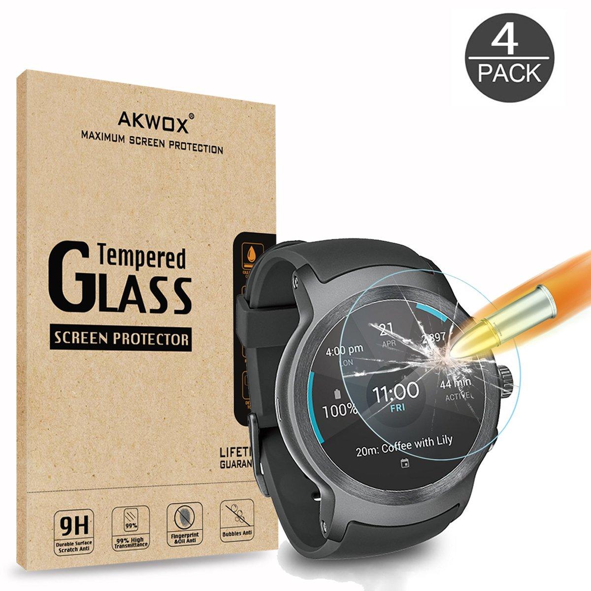 Vidrio Protector para Lg Watch Sport x4 AKWOX -78SQ5V87