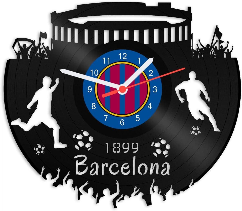 Grabado Línea Tocadiscos Reloj Barcelona – 100% del amor ...