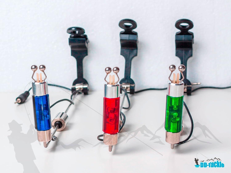 Nuevo DD-Tackle LED swing Colour a elección de picada detectores de picada kerabad picada con diseño de alerta de pesca colgante Swinger Blau: Amazon.es: ...