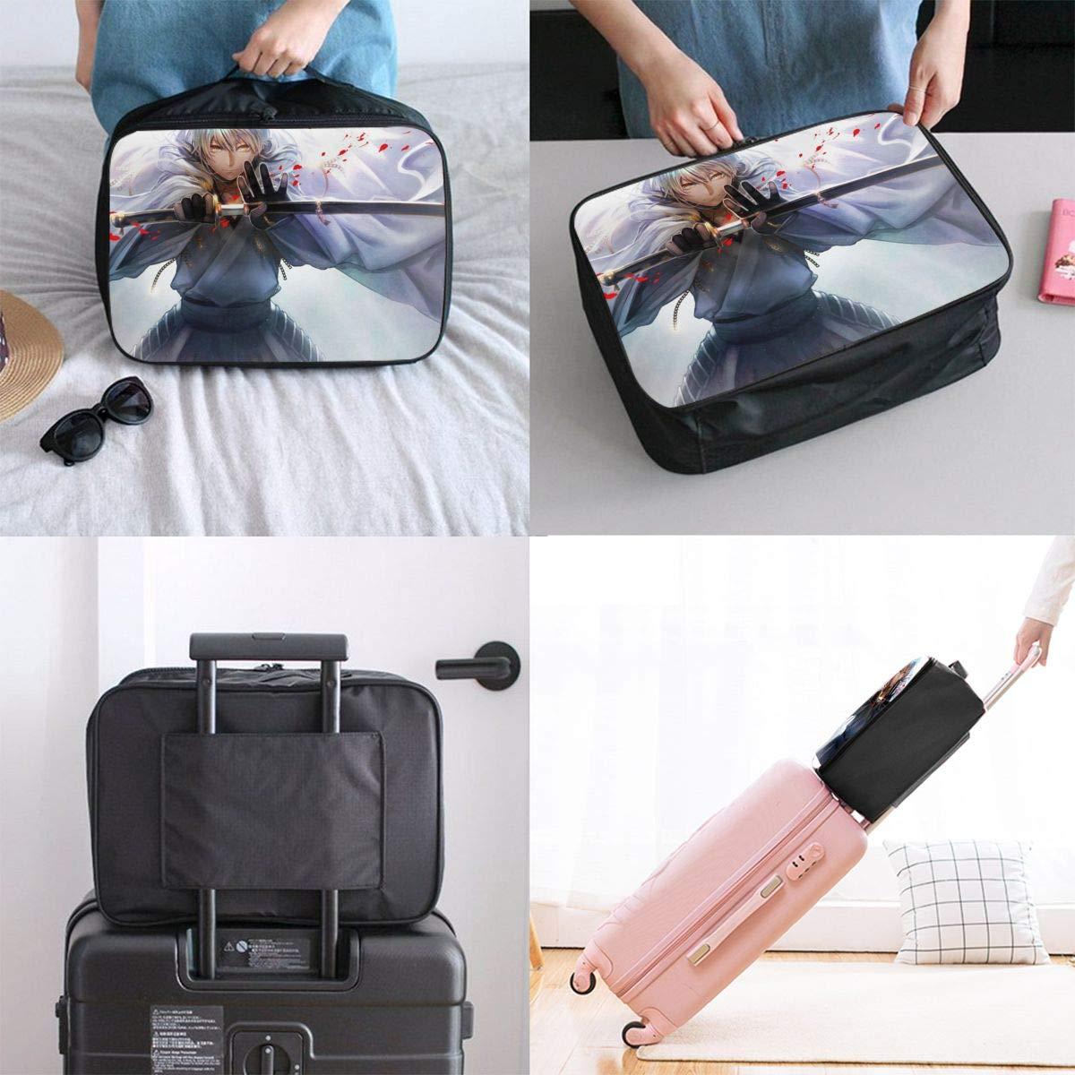 Touken Ranbu Customize Casual Portable Travel Bag Suitcase Storage Bag Luggage Packing Tote Bag Trolley Bag