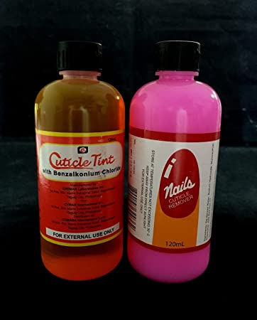 Cuticle Remover Benzalkonium Chloride Combo 2 X 120ml