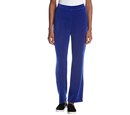 ab96b73d0da Studio Works Velour Pull On Pants at Amazon Women s Clothing store