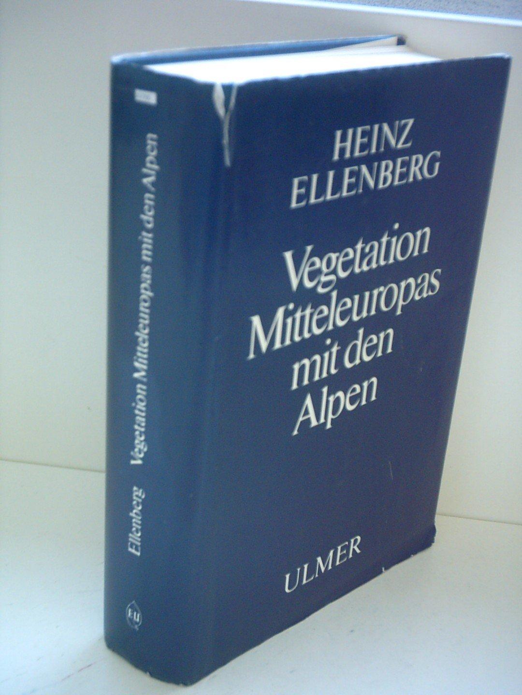 Vegetation Mitteleuropas mit den Alpen. In ökologischer Sicht