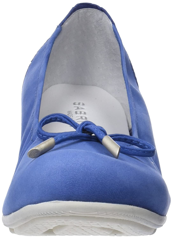 Sabrinas Damen City 002) Geschlossene Ballerinas Blau (Blau 002) City 594d7f