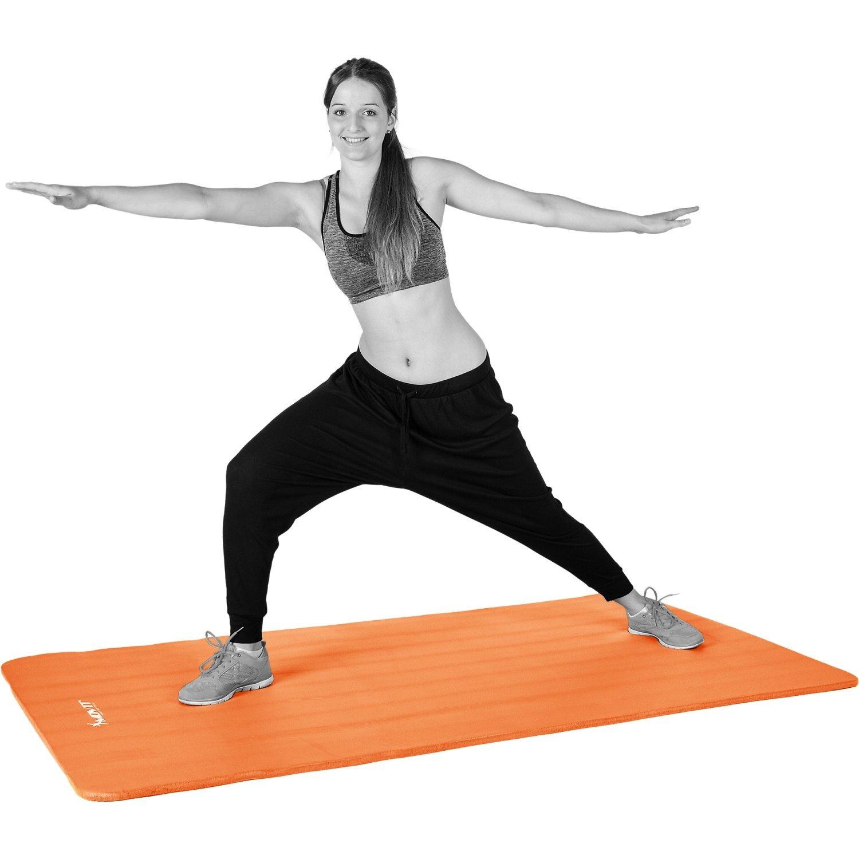 tr/ès /épais /Épaisseur Taille 183cm x 60cm 1,0 cm en 12 Couleurs Rembourr/é MOVIT/® Tapis de Gymnastique Mat de Yoga sans phtalate Fitness Pilates//Sport//Gym SGS//Sol test/é